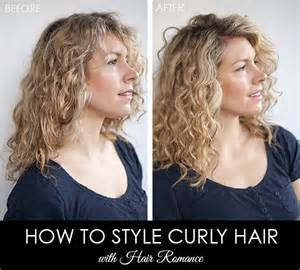 culry hair before and after picture 11
