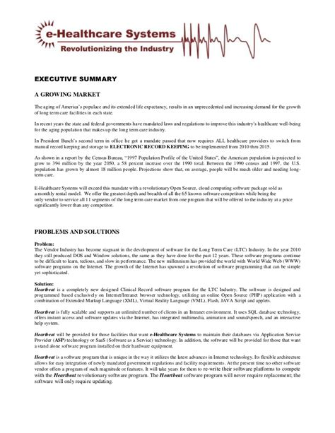 health education executive summary guidelines picture 1