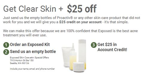 coupons exposed skin care picture 6