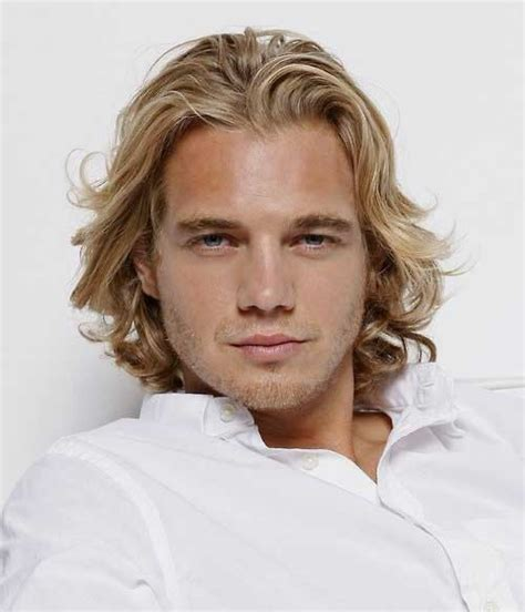 man with blonde curly hair picture 9