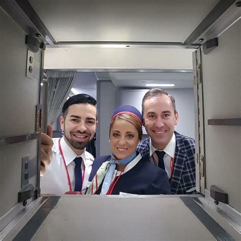 flight attendant taking thyromine picture 13