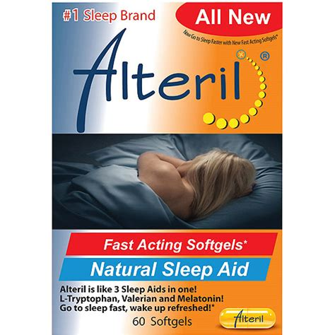alteril natural sleep aid softgels picture 2