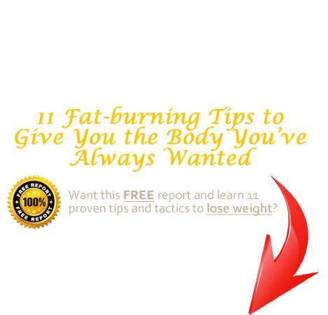 fat burning tricks and tips picture 13