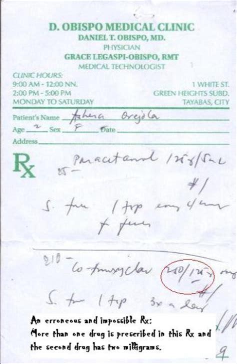 doctor prescription pad picture 3