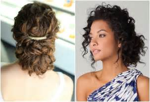 curly hair wedding updos picture 2