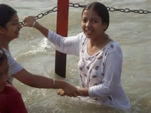 exbii of haridwar bathing picture 15