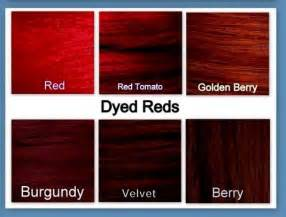 color chart for red hair dye picture 17
