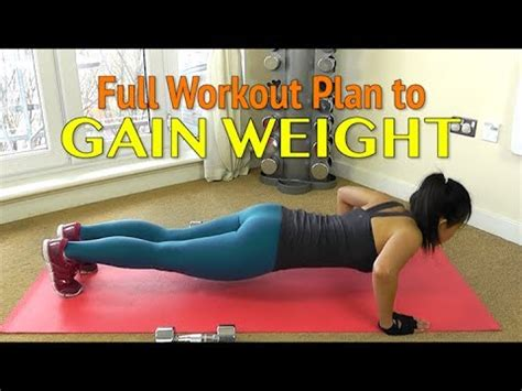 Weight gain exercises picture 2