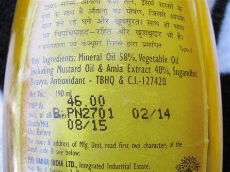 ingredients in chandrabati hair oil picture 5