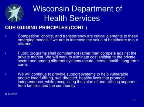 wisconsin department of health & family services picture 1