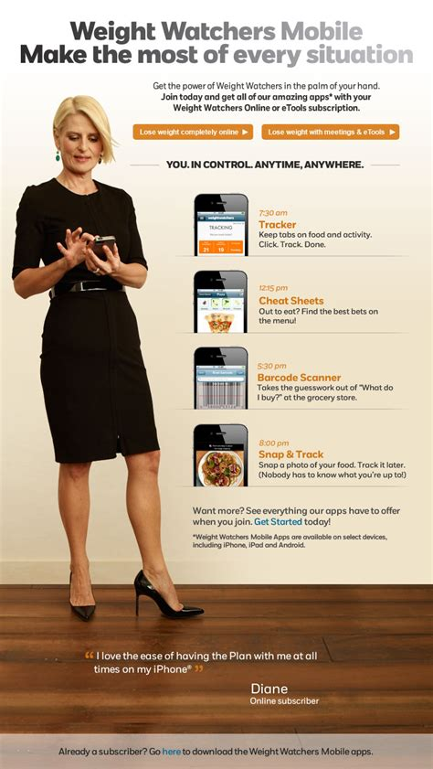 weighchers online weight loss - weight watchers etools picture 3