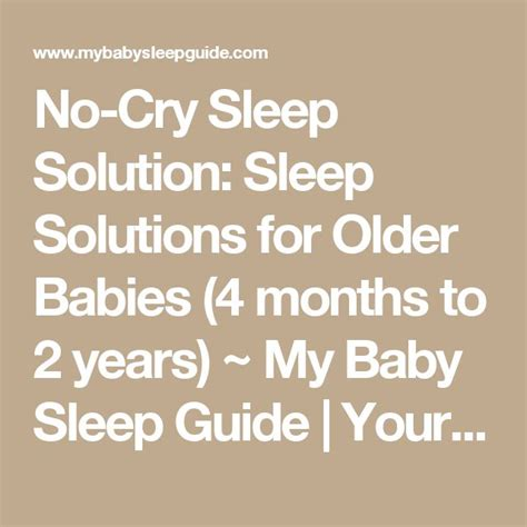 no cry sleep solution picture 6