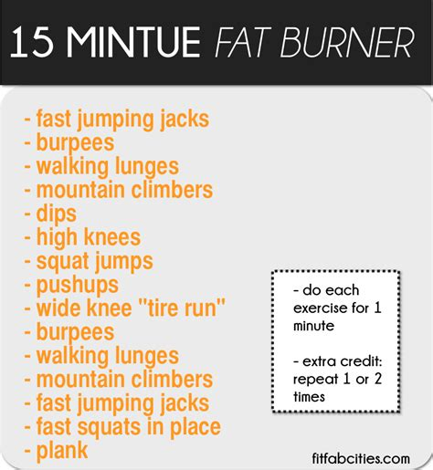 fat burning workout routines picture 6