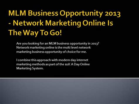 top mlm business opportunity picture 9
