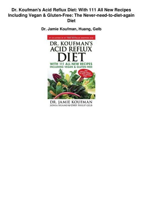 ascid reflux free diet picture 2