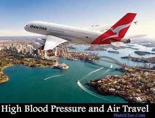 Low blood pressure and air travel picture 1