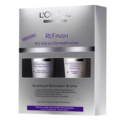 kit micro dermabrasion refinish dermo expertise lor al picture 3