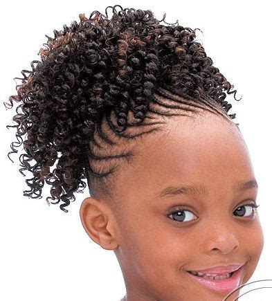 Black hair style for kids picture 10