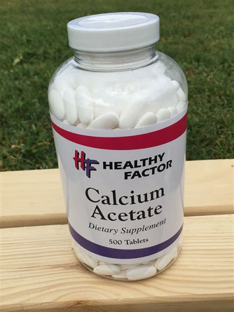 calcium acetate picture 2