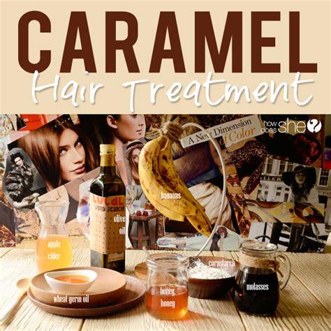 caramel hair treatment picture 3