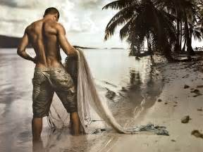 beach and men picture 14