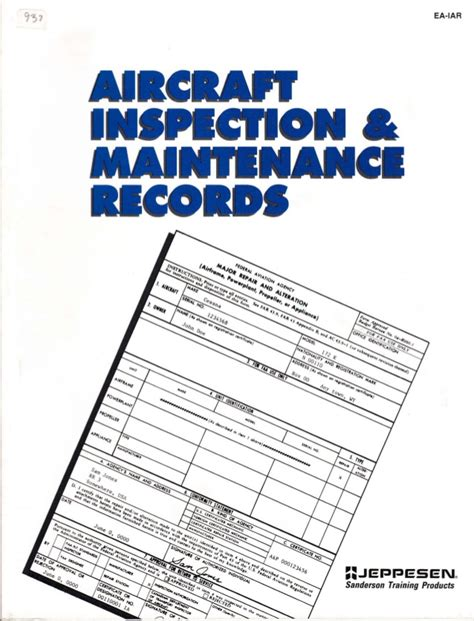 airplanes maintenance check list picture 6