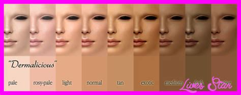 make up skin tones picture 1