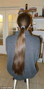 cut off ponytail after hairjob picture 7