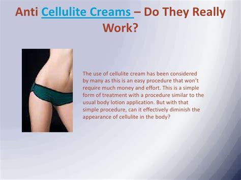 cellulite creams on show picture 1