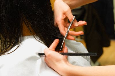 thinning out thick hair with scissors picture 8