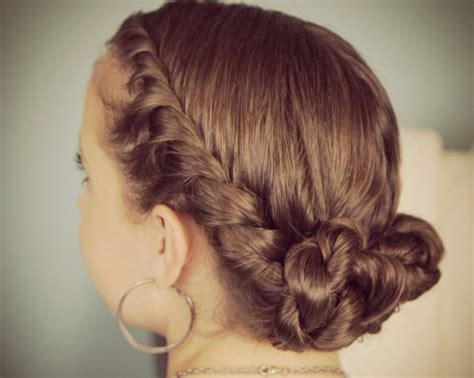 prom hairstyles medium length hair picture 1