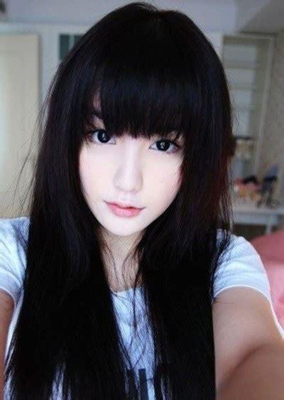 asians dark hair picture 9