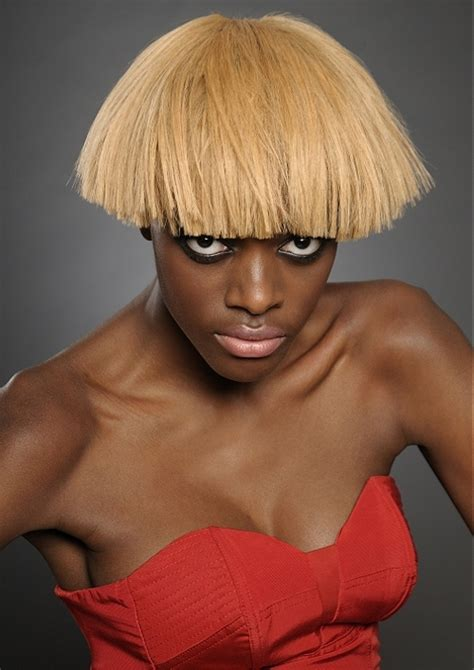 blonde hair with black highlightts picture 11