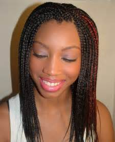 black hair and braids picture 1
