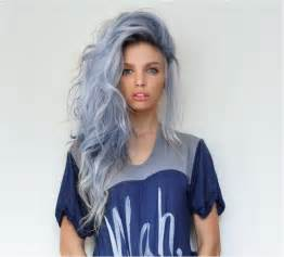 blue dye for gray hair picture 1