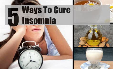 ways to cure insomnia picture 1