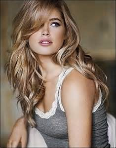 blonde hair with black highlightts picture 2