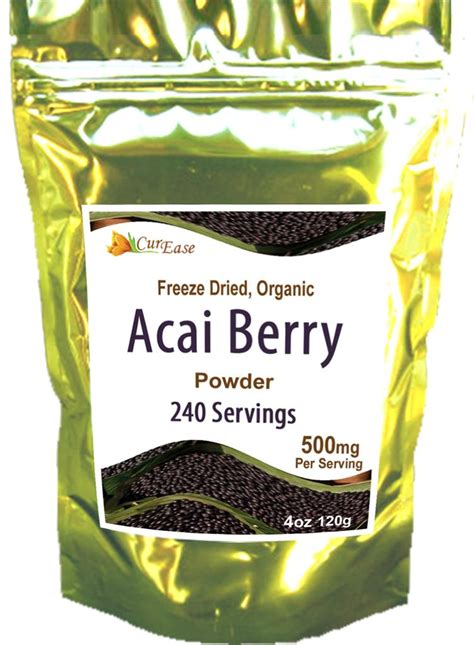 freeze dried acai berry picture 1
