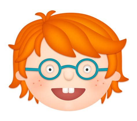 red hair cartoon boys picture 17
