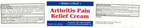 baker's best health arthritis cream picture 2