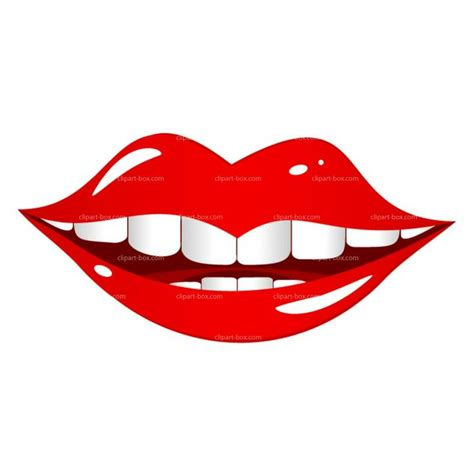 clipart of lips picture 9