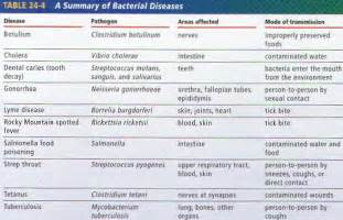 list of bacterial diseases picture 1