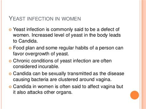women's guide to yeast infections picture 3
