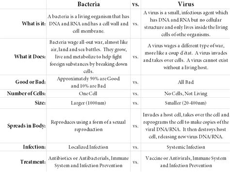 comparison between viral and bacterial diseases picture 6