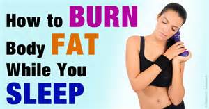 lose fat while you sleep picture 5