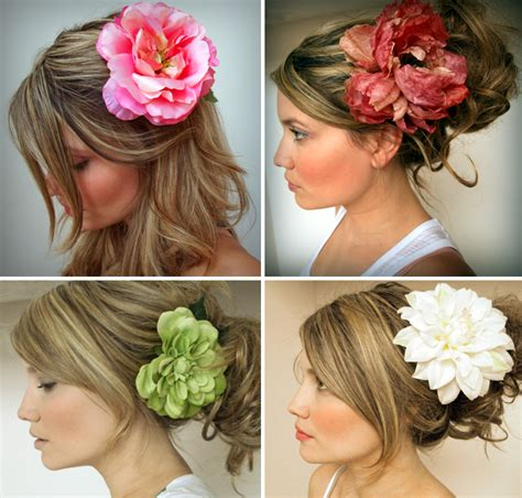 flower hair clips picture 4