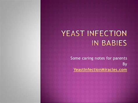 yeast infection relief infants picture 9