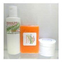0.00 dermaline papaya soap and whitening lotion kit picture 1