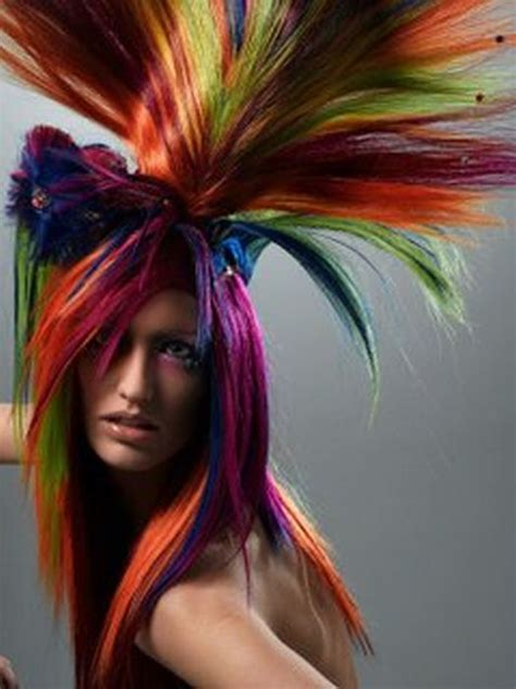 crazy hair day hair color picture 3