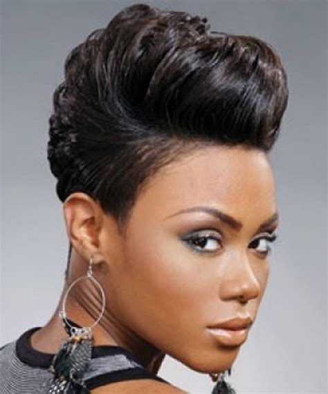 African american short hair styles picture 2